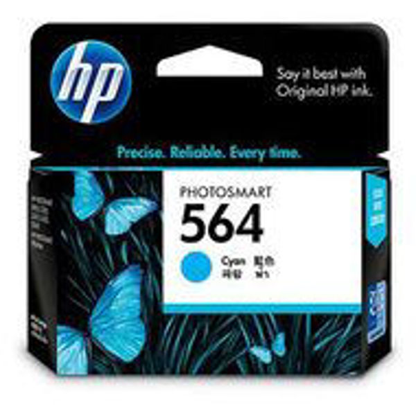 Picture of HP CB318WA #564 Cyan Ink