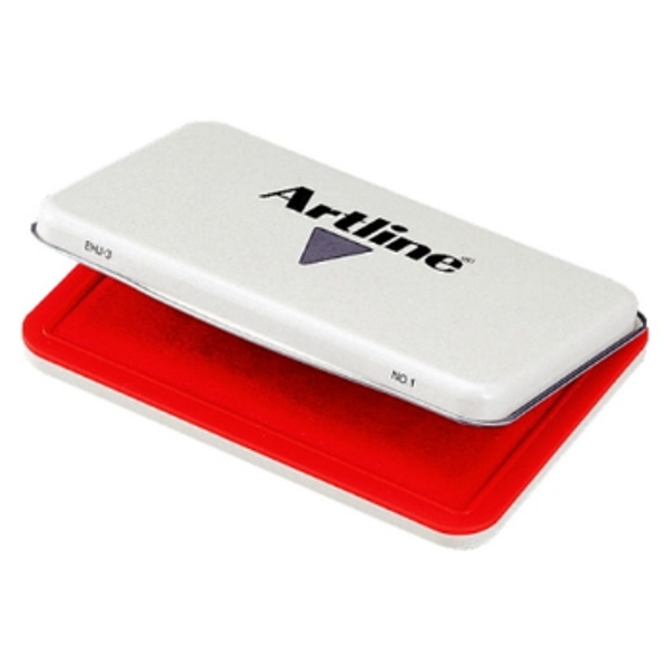 Picture of ARTLINE PREMIUM STAMP PAD #1 EHJ 3 RED