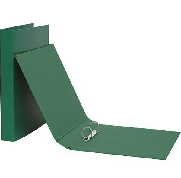 Picture of BINDER 2'O'R MARBIG A5 25MM ECONO GREEN