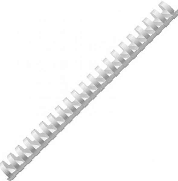 Picture of Binding Coil 8mm Plastic Rexel White 455
