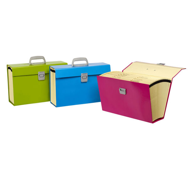 Picture of CARRY FILE F/C MARBIG A-Z SUMMER COLOURS